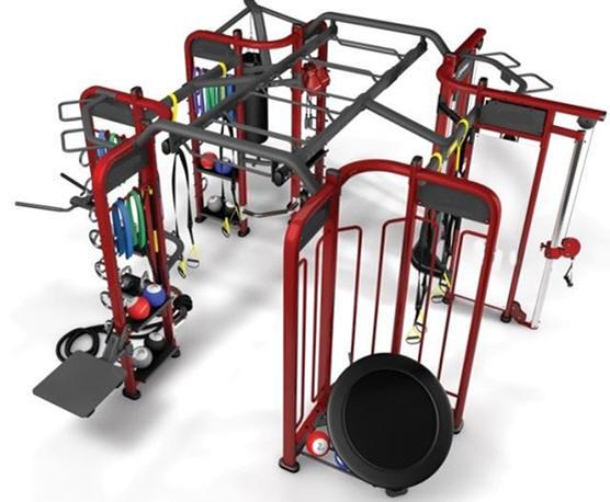 equipamento para crossfit gimnasios