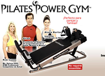 maquina pilates power gym